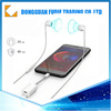 2 to 1 usb audio mp3 usb adapter aux headphone splitter for iPhone 7