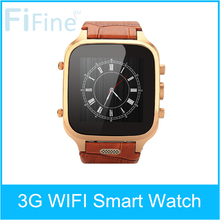 Dual Core Microphone SNS Google Map Wholesale 3G Android Watch Phone