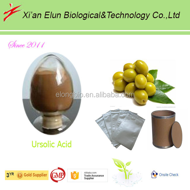 Ursolic acid from natural herbal extract for makeup products on sales