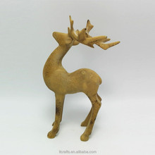 holiday gift small resin deer figurine for christimas decoration
