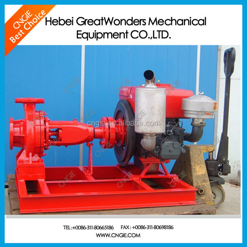 Hot sale red jacket electric centrifugal pump