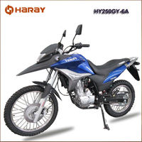 Top Quality Chinese Manufactued 250cc Dirt Bike HY250GY-6A for South American
