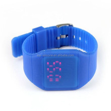Hot Selling Christmas Gifts White Silicone Watch