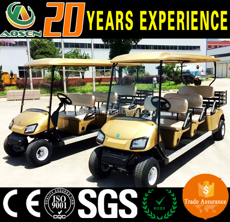 4KW CE Aprroved Cheap Comfortable 6 Passenger Golf Cart /Electric Golf Car Bus