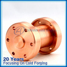 Precision forged electrical fitting
