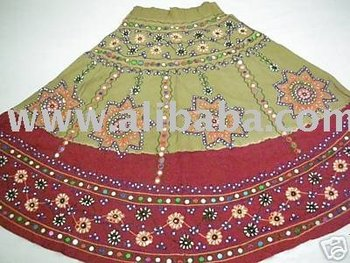Women Apparel Rajasthani Ghagra Choli Dress.