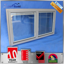 Australia standard aluminum fixed windows with tempered glass
