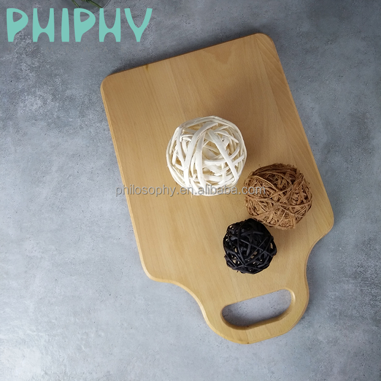 Wholesale beech wooden cheese cutting board for the kitchen
