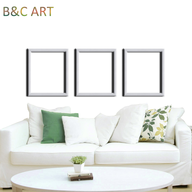 Home decoration modern plastic white velvet back 8x12 photo frame