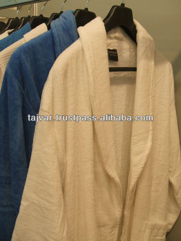 Velour Terry Bathrobes