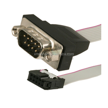 ODM OEM RoHS compliant 15pin vga flat ribbon cable