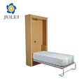 hotsale modern motorized folding bed bedroom furniture slat frame wall bed