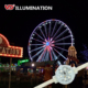 IP68 outdoor rgb programmable dmx led amusement ferris wheel lighting