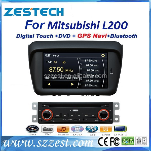 ZESTECH 2013 Hot Auto Electronics car dvd player car dvd radio for Mitsubishi L200 support radio tv gps