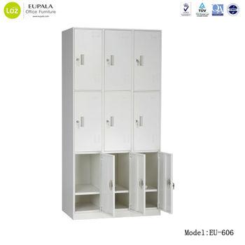 Steel School Locker/steel Bedroom Lockers/9 Door Steel Locker - Buy ...