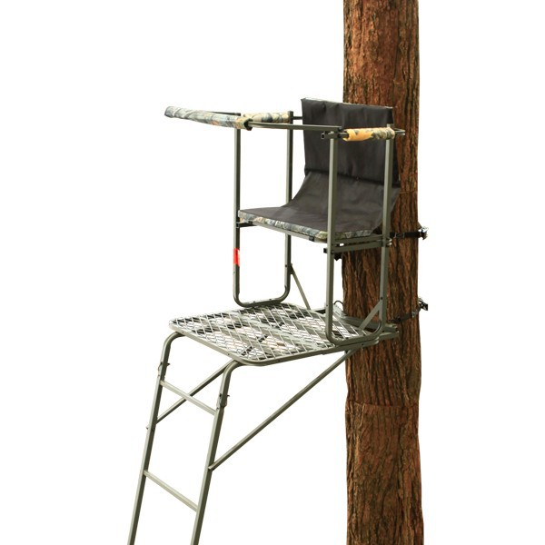 TS002 15.5' ladder hunting strong built tree stands