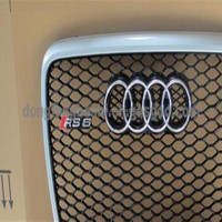 auto front mesh grill for audi a5 a6 a4
