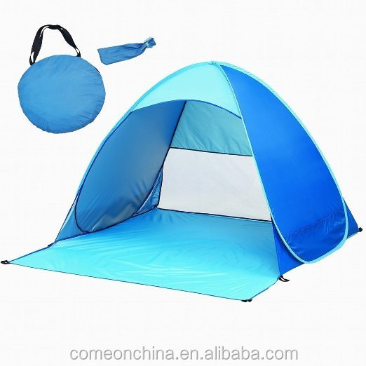 Outdoor Automatic Pop up Instant Portable Cabana Beach Tent