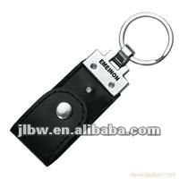 leather key chain usb flash drive disk memory stick pendrive drive logo printing 8GB 16GB
