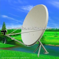 ku band 75cm satellite dish antenna with ground stand