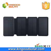 Wholesale alibaba FOLDABLE solar mobile power bank 10000mah universal wireless charger