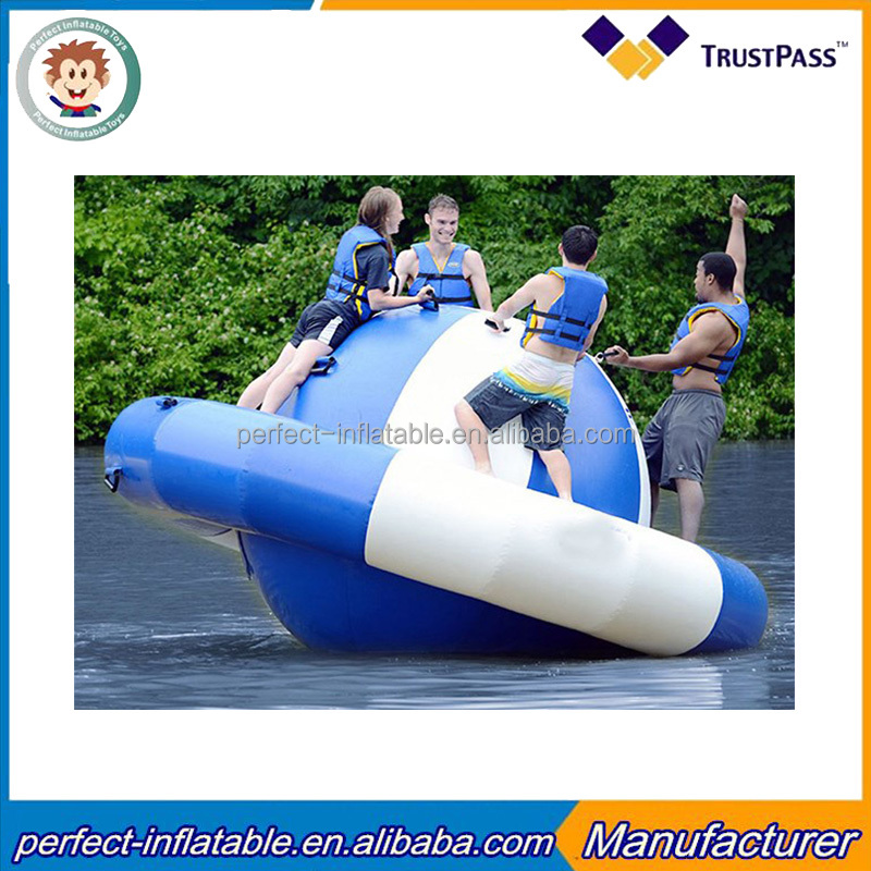 Best quality inflatable water game outdoor floating toys inflatable water trampoline for entertainment with good quality