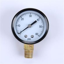 High Quality Normal Pressure Gauge Durable LightWeight Easy To Read Clear Air And Gas Measurement Pressure Transmitters