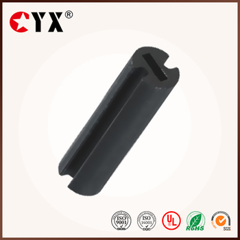 Black UL Nylon66 LED plastic Standoff with 2 Slots