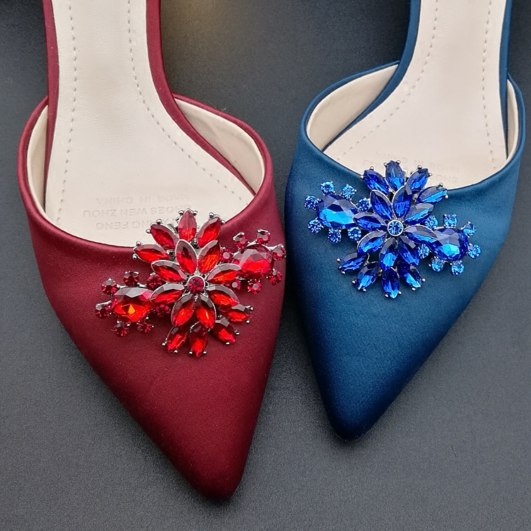 fashion decorative shoe buckles,shoe clips for high heel,shoes accessories for women flat shoe