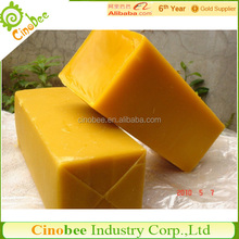 Natural yellow wax slab