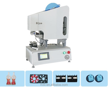 Semi automatic high precision camera lens label machine USB connector label machine