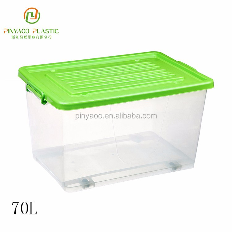 Hot selling custom printed plastic kitchen storage boxes