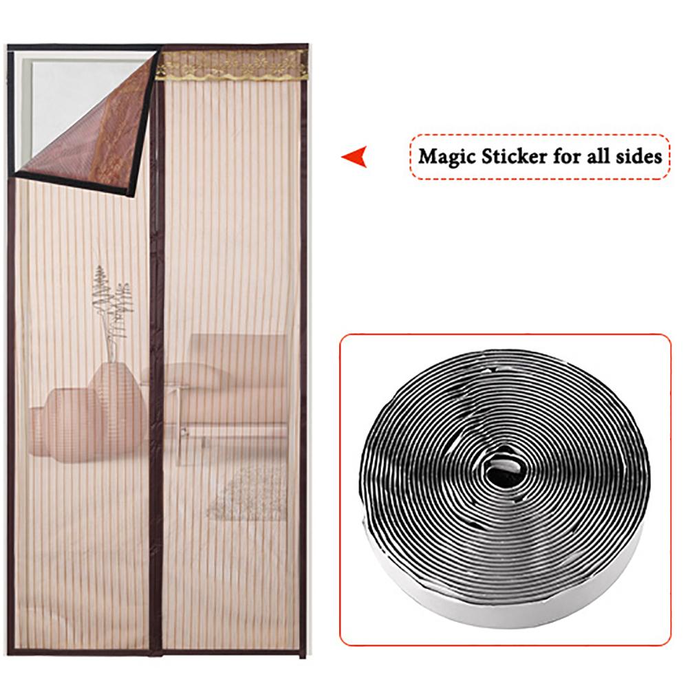 Green Mosquito Net Screen Garage Door Curtains Buy Garage Door