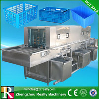 High pressure and temperature water type basket washer for sale