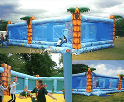 2016 Giant inflatable sports gym inflatable sports equipment for sports games