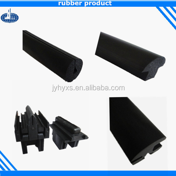 Jiangyin Huayuan supplys various rubber strip sliding door seal