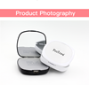 Portable Mirror Powerbank 4000mah For Iphone Charger