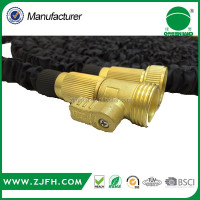 2016 Hot sold expandable hose with brass fitting 8 function spray gun