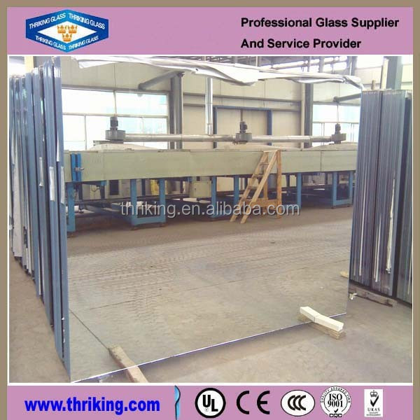 Thriking Cheap price 2 mm clear float Aluminum mirror for wall