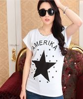 Nice looking very low price t-shirts with printing star pattern