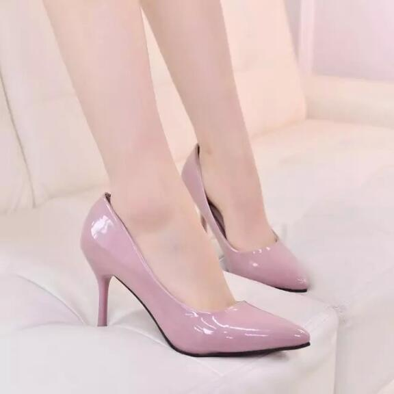 zm32706a wholesale cheap ladies pencil high heel shoes fashion women pumps