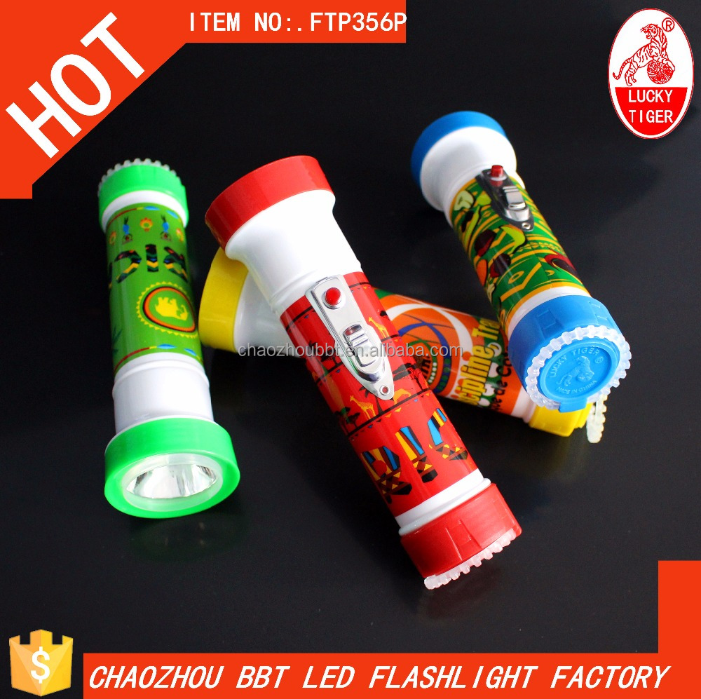 Wholesale 1LED Mini Torch Plastic Flashlight LED Torches Light Electric Torch