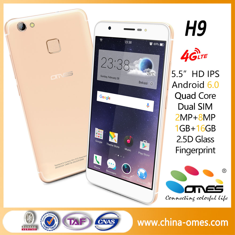 New 5.5 inch android 4g volte china mobile phone