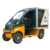 China mini logistic electric car for big loading charge battery lorry for transportation