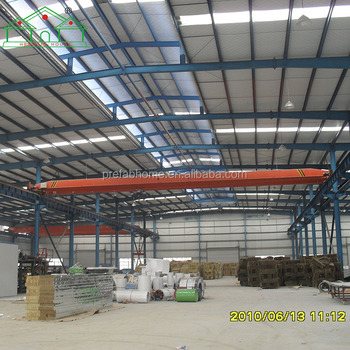 Galvanized steel structure prefabricated warehouse price for sale