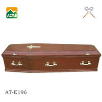 wholesale best price cheap wood coffin