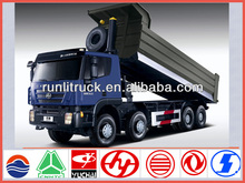China brand new Iveco hongyan genlyon Euro5 ng 8*4 30ton tipper truck for sale tata