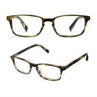 new top handmade optical glasses fashion slim rim eyeglasses