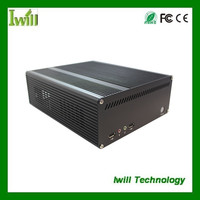 Mini dual HTPC case itx pc case for car computer