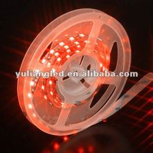 60leds waterproof 5050smd red led flexible strip light